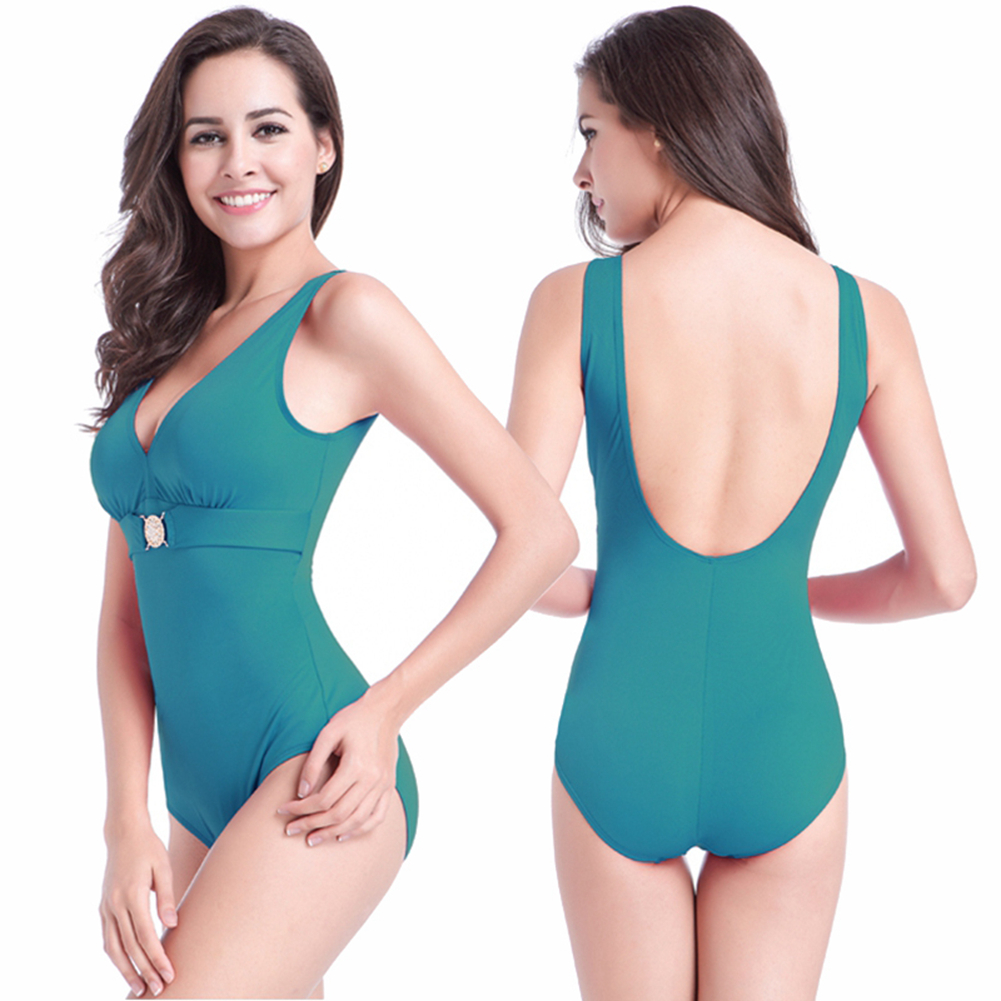 a877195d973 Google Chicute Women's Sexy Padded Push Up Tankinis One Piece ...