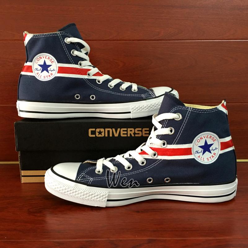 1a0055b86542ff UK Flag Union Jack Original Design Converse All Star Chuck Taylor ...
