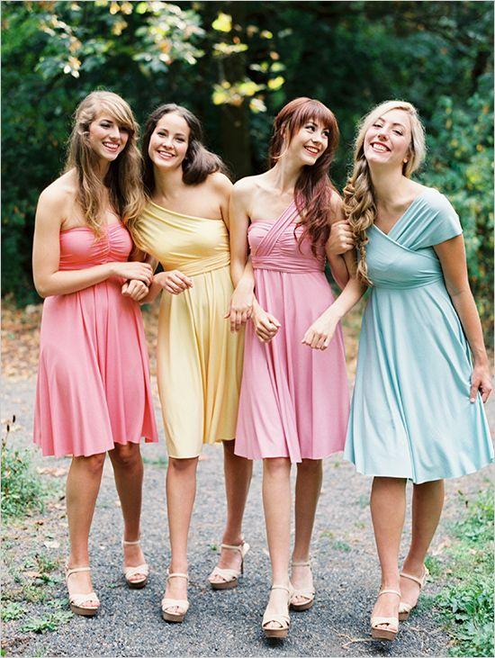 c5302bc66fe09 Short bridesmaid dress,mismatched bridesmaid dress,cute bridesmaid dress,simple  bridesmaid dress,cheap bridesmaid dress, PD190200