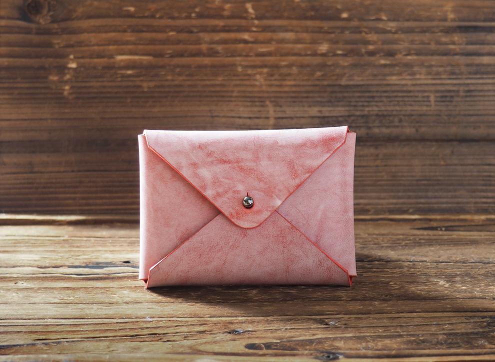 23084f339d52de Handmade Leather Business card holder Credit card holder Slim Card ...