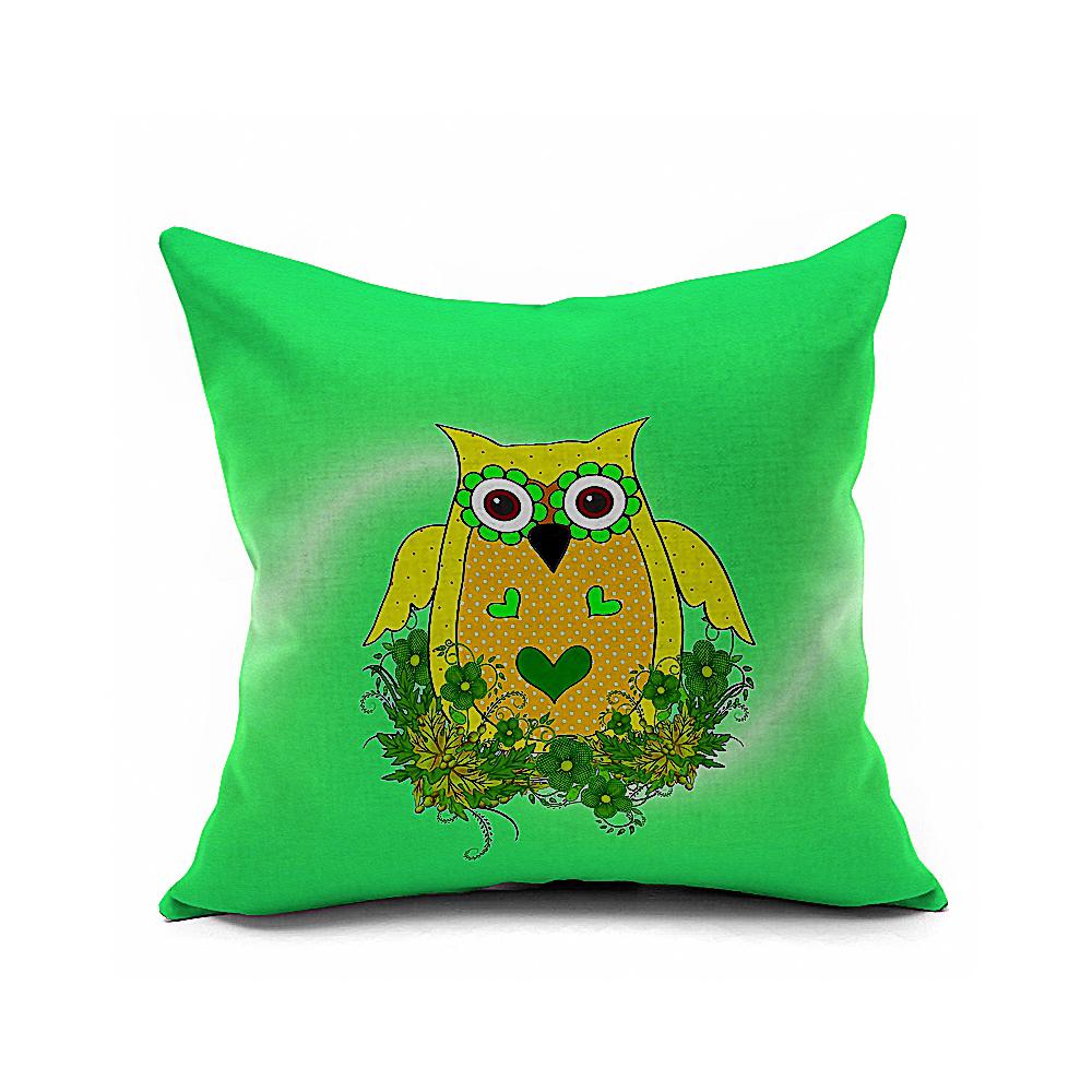 Cojines Sofa Online.Owl Cotton Linen Decorative Fundas De Cojines Sofa Cushion