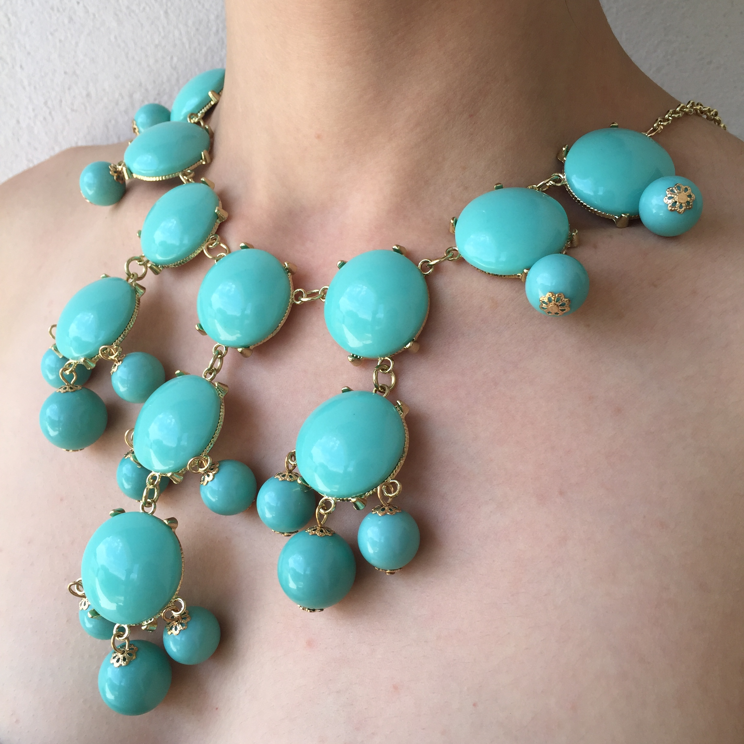 7d305acc1 Tiffany Blue Bubble Necklace on Storenvy