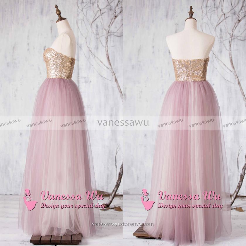 118488c6154 Sequined Bridesmaid Dress