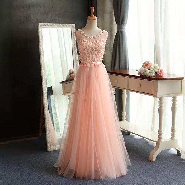 3a07c4af91e Long A-Line Prom Dresses
