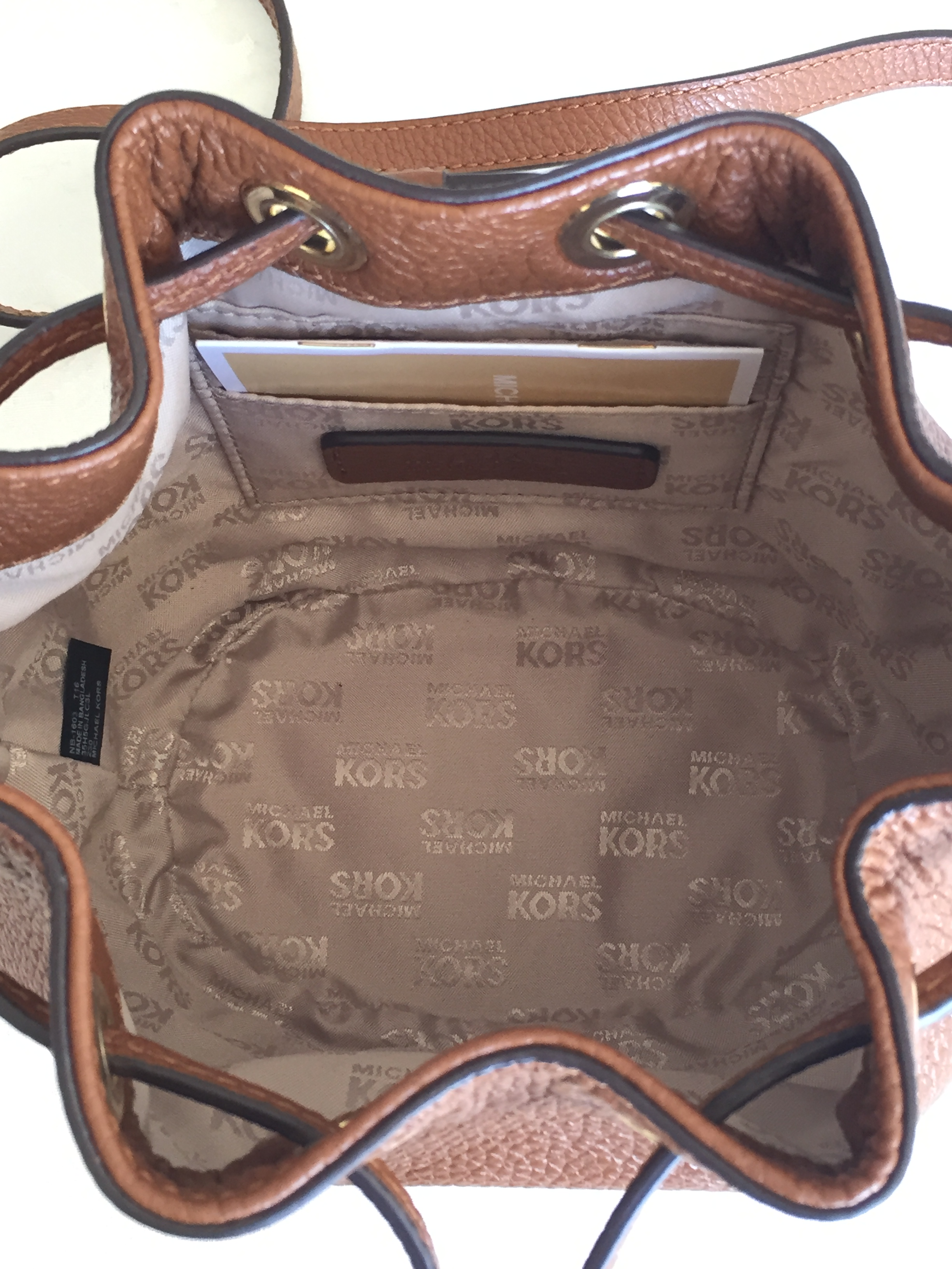 3976d405c601 MICHAEL KORS Luggage Brown