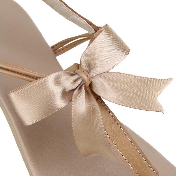 c6c6f01f195d ... Cute Bowknot Flat sandals - Thumbnail 3 ...