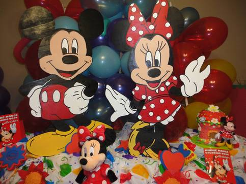 Mickey Mouse Clubhouse Birthday Decoration Photo Props