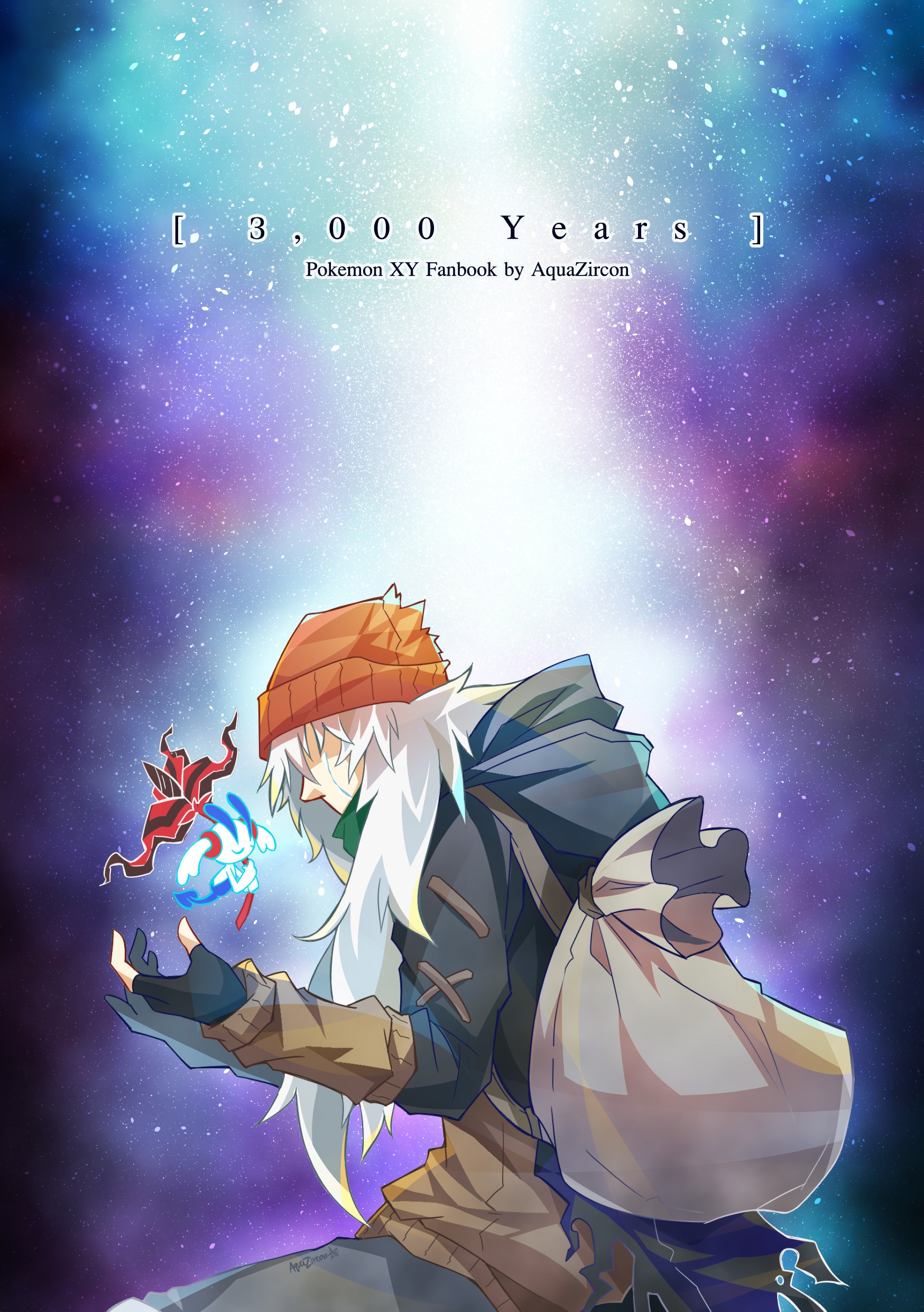3,000 Years - Pokemon XY Fanbook (Thai Ver  with English translate sheet)  from AquaZircon