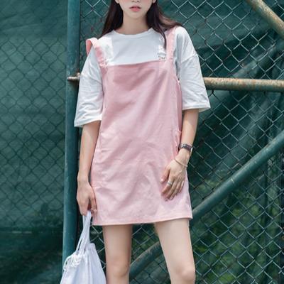 ef9b4458d8 Pastel Overalls Dress.  35.00 · Heart overalls