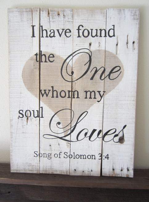 I Have Found The One Whom My Soul Loves Song Of Solomon 3