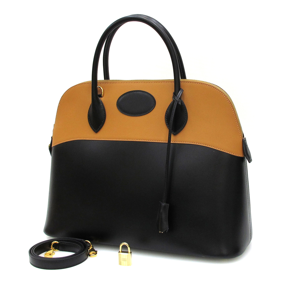7fede53449f 100% Authentic Hermes Boldie 37 Two Tone Shoulder Bag ...