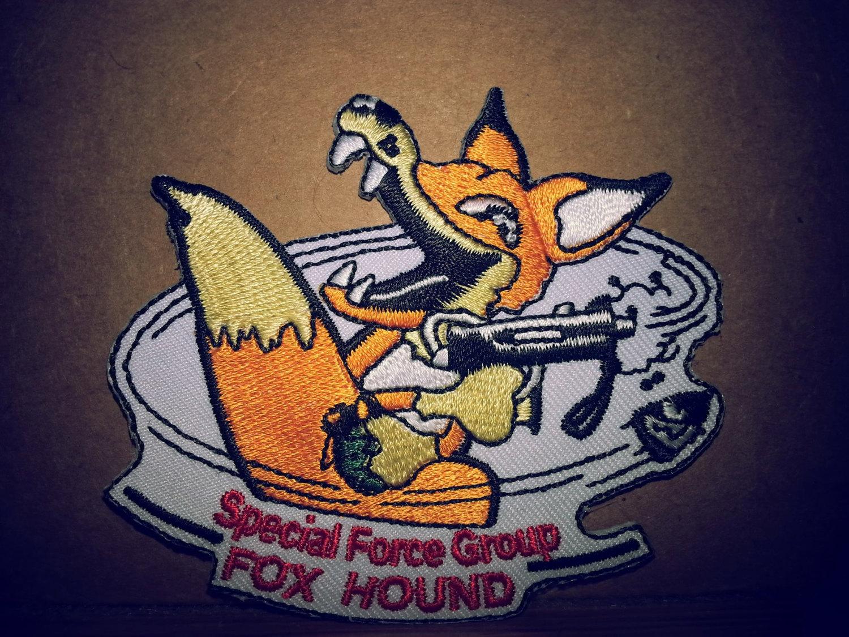 Metal Gear Solid Foxhound Patch Retro Cosplay Meryl Silverburghs