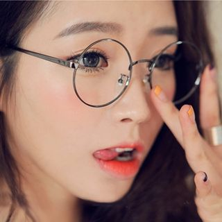 eef59ae0ad9 Round Ulzzang Clear Glasses on Storenvy