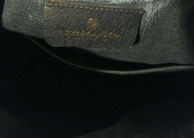e831c5f9e87 ... Vintage Signature Monogram Gucci Blue Red Stripe GG Drawstring Bucket  Purse Bag - Thumbnail 4