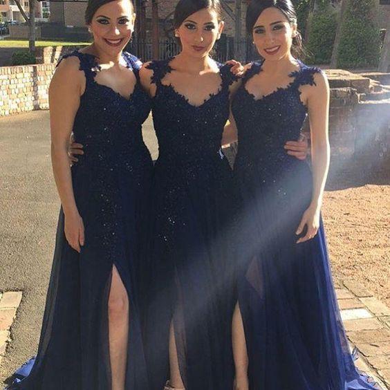58a4d6772c4 Long bridesmaid dress