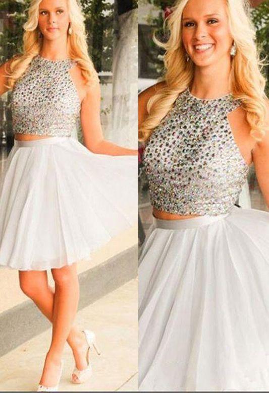 Grey Homecoming Gowns,New prom Dresses,Light Gray Prom gowns,sweet ...