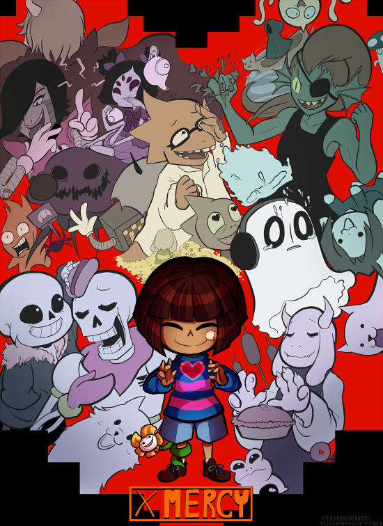 [Undertale] Two Paths from Meaker Sneakers