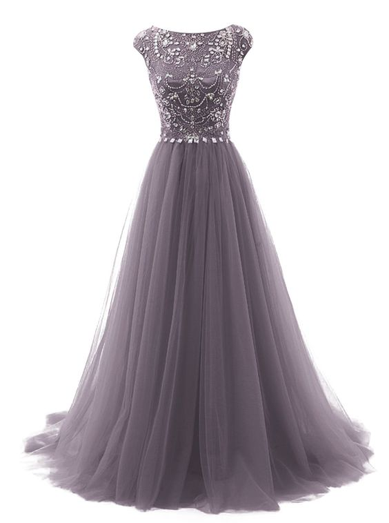 88c808a2f7cce New ball gown Long Prom Dresses tulle Pageant Dresses Long Evening ...