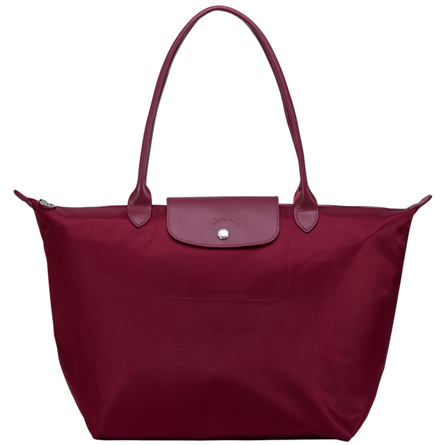 1faba9d1a7 Authentic Longchamp Le Pliage Neo Large Tote Bag Wine 1899578009 ...