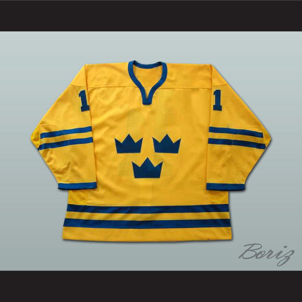 Daniel Alfredsson World Cup Team Sweden Team Hockey Jersey NEW ... 18882e368f1