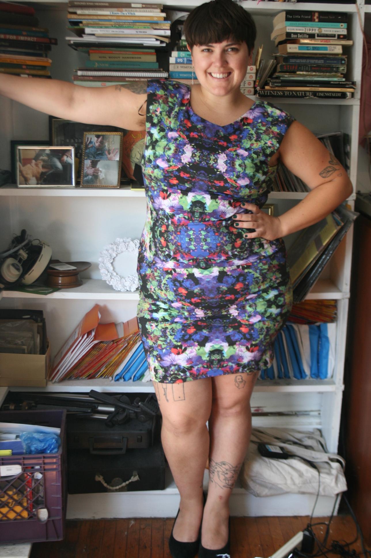 H&M Plus Size Multi-Color Bodycon Dress Size XL/14/16 on Storenvy