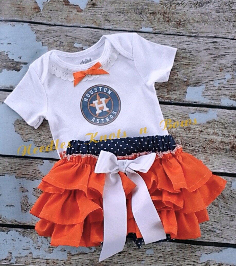 3ad99e32d3d5 Girls Houston Astros Outfit
