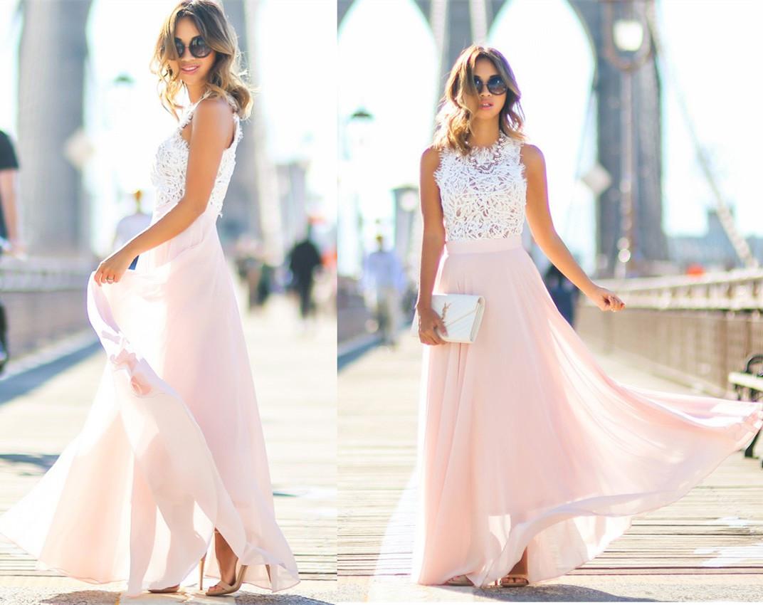 Modest Prom Dress Chiffon Prom Dress Long Prom Dresses