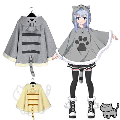 d603932758 Neko atsume kitty cat sweater hoodie cloak cape sp168276