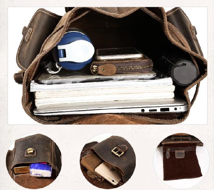 2031f6bee ... Women's Vintage Backpack Laptop Bag Travel Bag Shoulder Bag--FREE  SHIPPING - Thumbnail 3 ...
