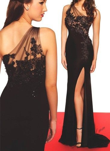 93a0abcaca04 New Sexy One Shoulder Long Prom Dresses Beading Formal Party Gown Custom  Made Prom Dresses Sc 1 St Prom Dress - Storenvy