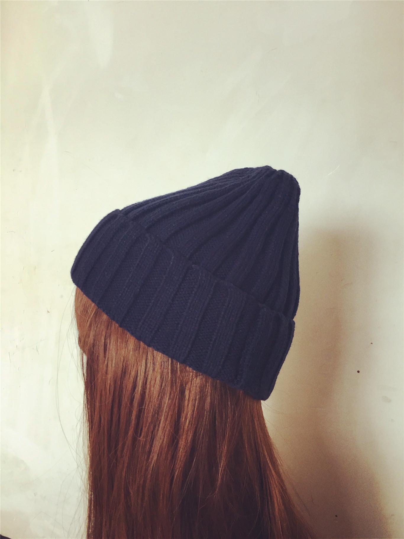 c7f9991ba1fac FREE SHIPPING Women s Winter Warm Knit Hip-hop Unisex Beanie Hat Cap ...