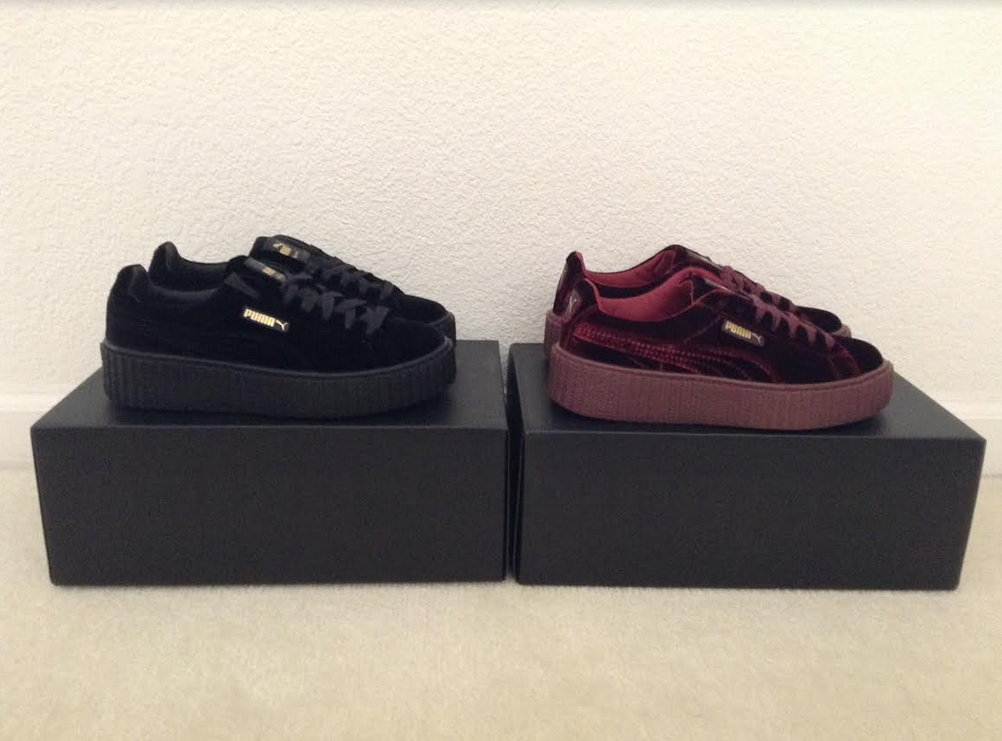 wholesale dealer f5e86 60261 Fenty Puma x Rihanna Velvet Creeper Platform Sneakers (New with box) sold  by Rillest