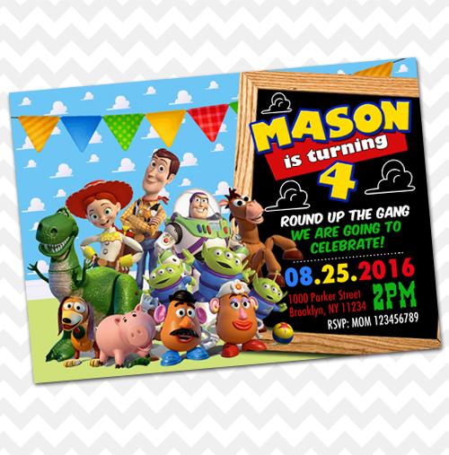 Toy Story Invitation Birthday Invitations