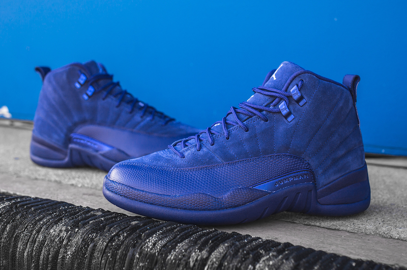 pretty nice 03f82 490d7 Air jordan 12 deep royal blue suede 1 small