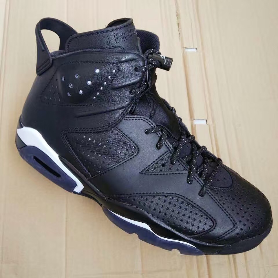 on sale b0530 5add7 ... Nike Air Jordan 6 Retro Black Cat  Black cat jordan 6 7 original ...