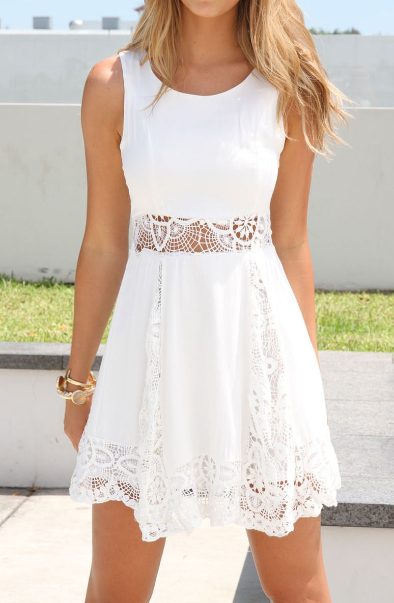 126bc6c6046 White Lace Dress on Storenvy