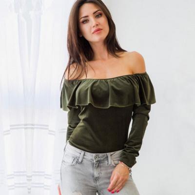d4bb0efbb8d Kourtney Velvet Off Shoulder Top · Fashion Struck · Online Store ...