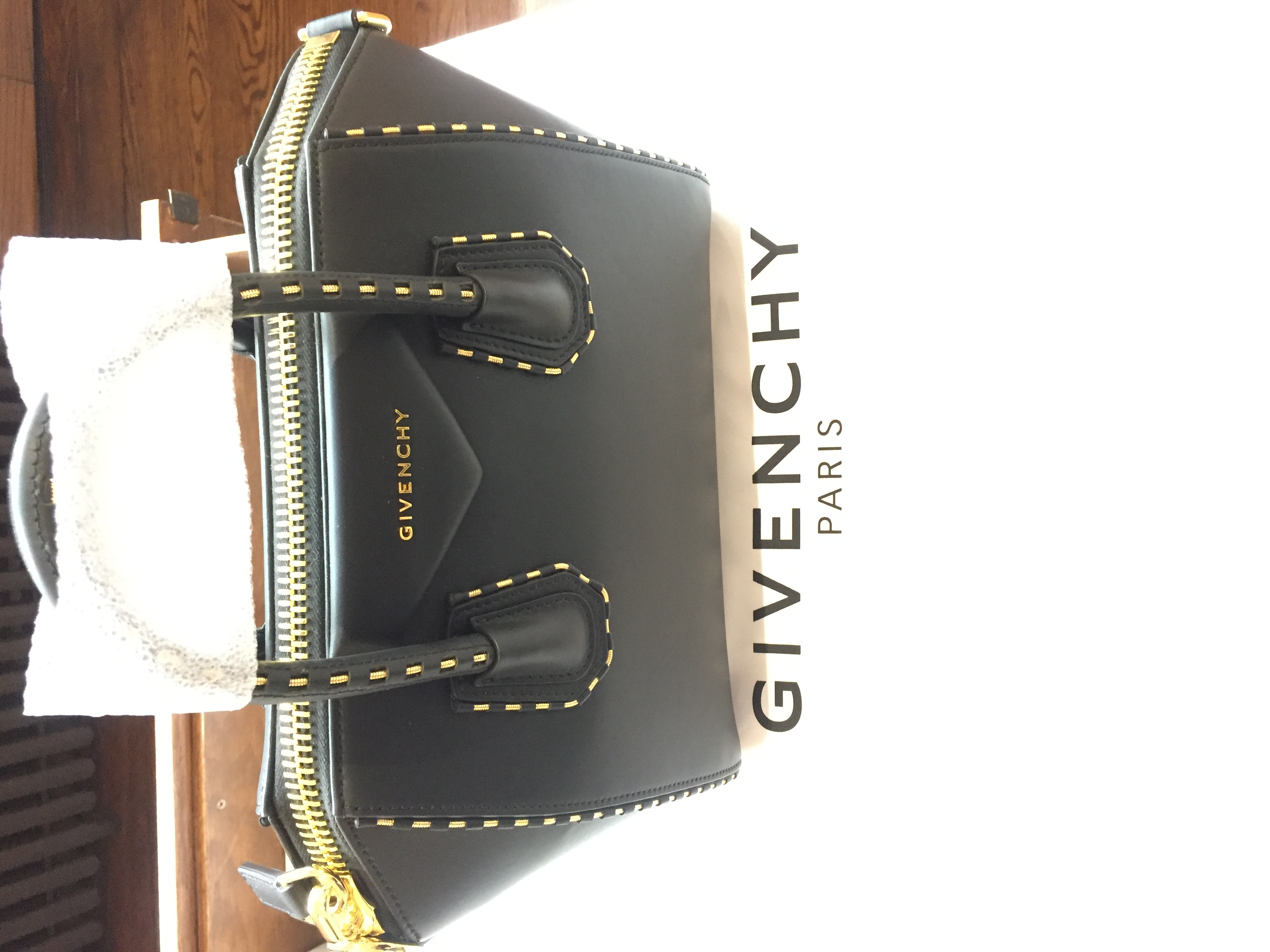 7f0cca498 Givenchy: Small Antigona Leather & Snake Chain Satchel on Storenvy