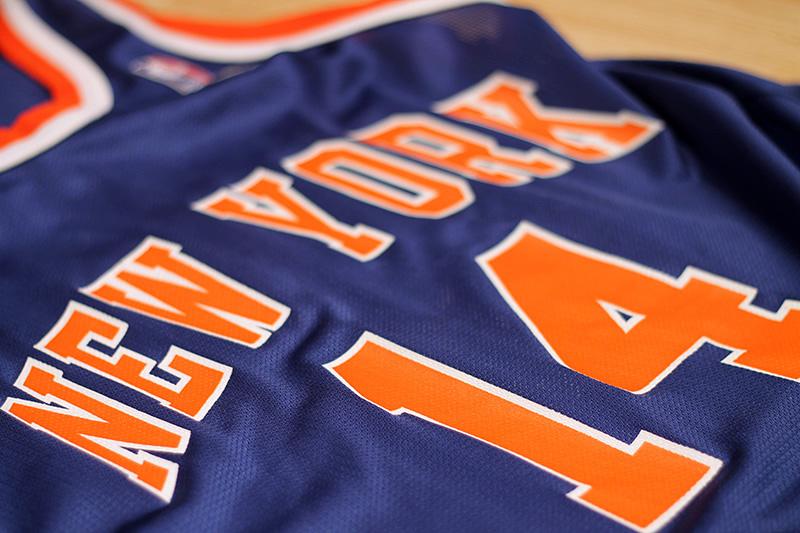 best sneakers 9ed39 d7277 Anthony Mason Knicks Jersey from SLAM! Vintage