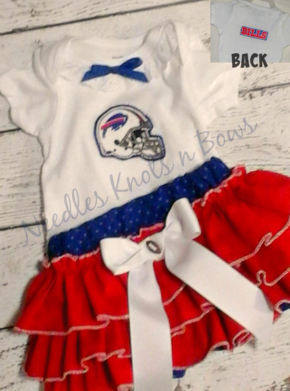 4226c778a0568 Girls Buffalo Bills Cheerleader Outfit