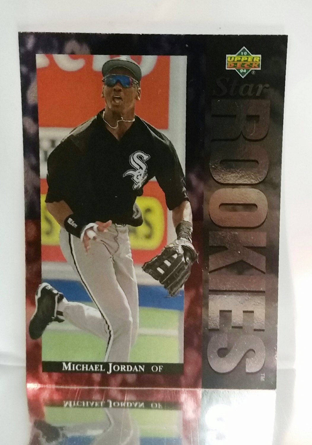 1994 Upper Deck 19 Michael Jordan Rookie Card Chicago White Sox 95 Mt Low Pop From Cardboard Coins