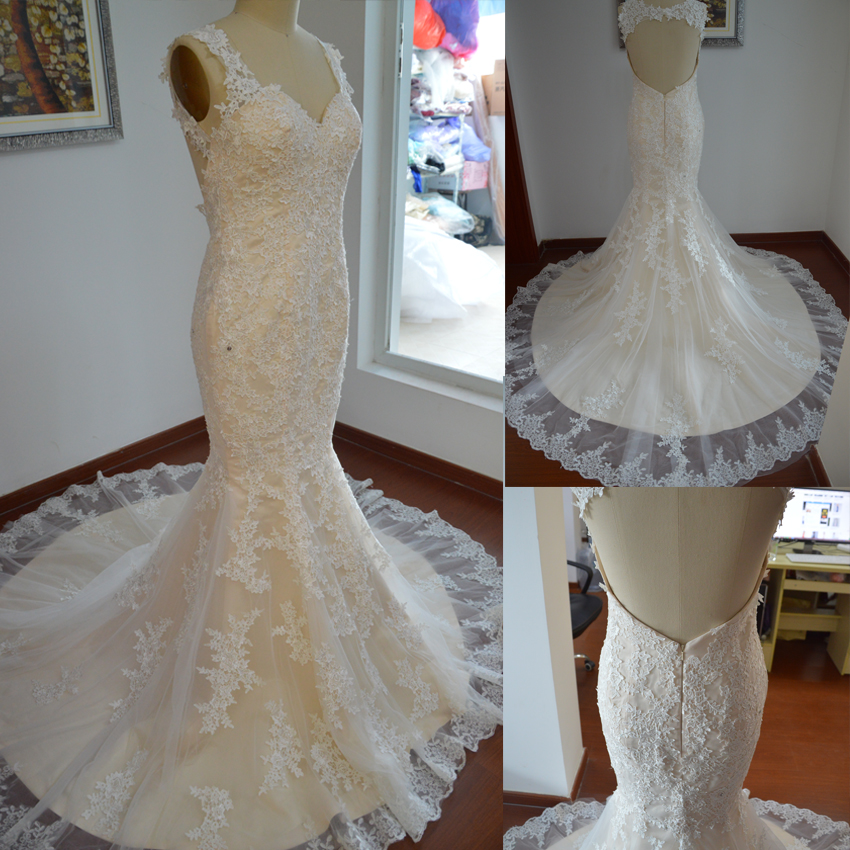 Sexy Lace Mermaid Wedding DDress,New Arrival Mermaid Bridal Gown, XW61 sold  by Now and Forever on Storenvy