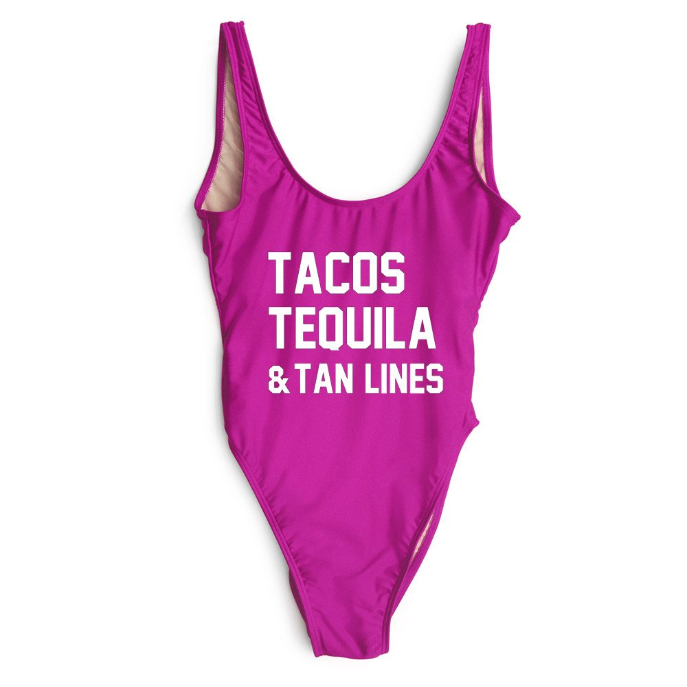 b56ad30a5 TACOS TEQUILA   TANLINES One Piece Bikini in MULTIPLE COLORS on Storenvy