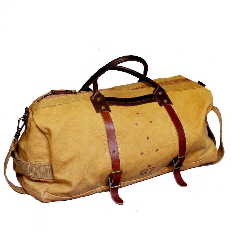 d03f8804da06 Waxed Canvas Duffle Bag   Weekend Bag   Duffel Bag Men   Men Duffle Bag