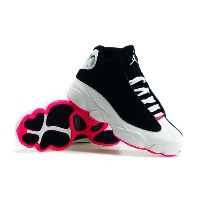 1820e87eb80 AIR Jordan 12 HIGH SHOES BLACK WHITE PINK on Storenvy