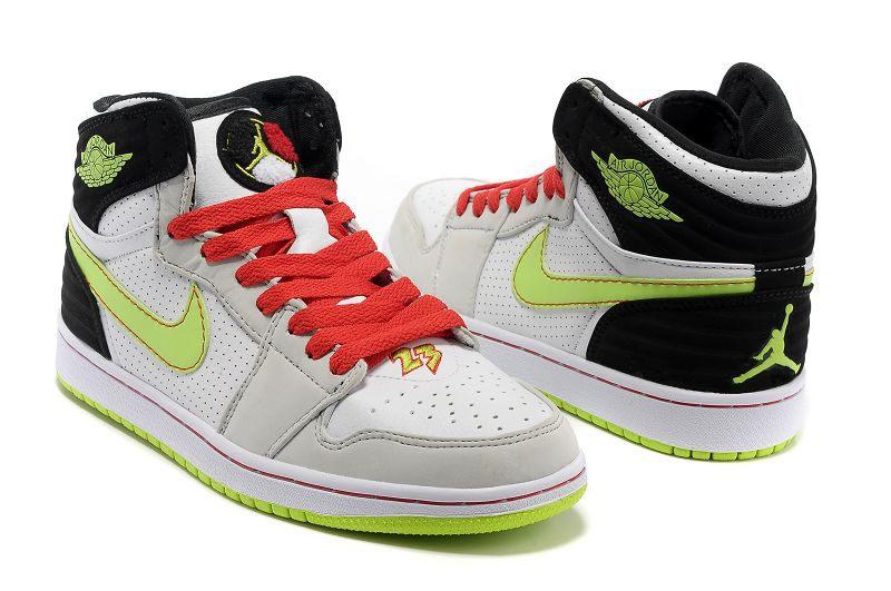 b99f13be70e094 Nike Air Jordan 1 Mens 93 White Green Black Red · Sneakeronline ...