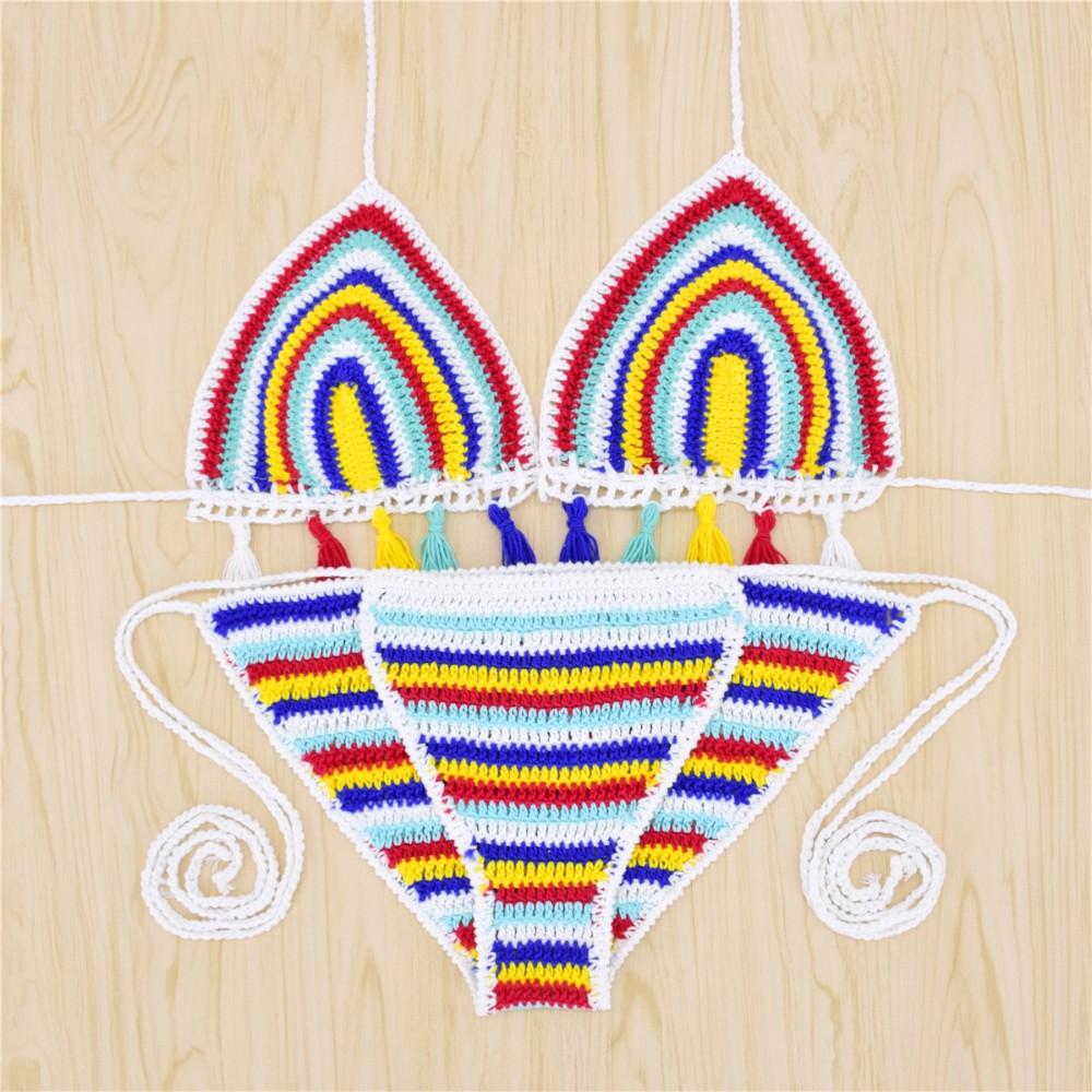 47edc0791a Sexy Handmade Crochet Bikini women crochet Swimsuit Brazilian biquini 2016  Crochet Swimwear Bathing Suit hot sale beach suit on Storenvy