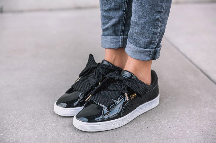 puma basket heart online shopping