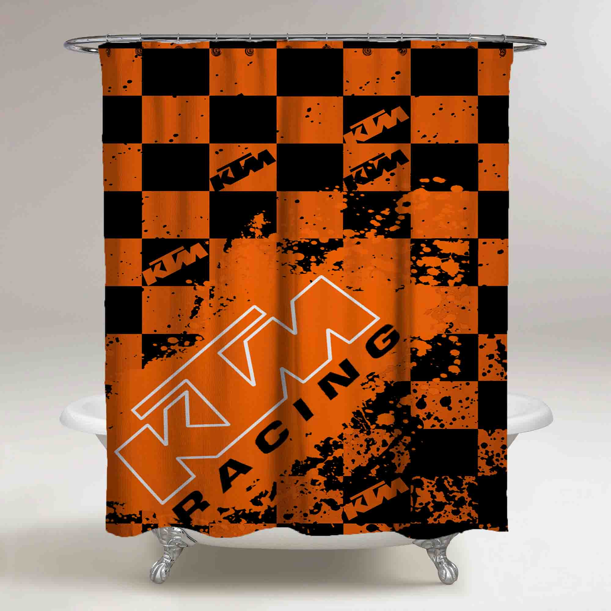 Ktm Orange Custom Race Flag Original