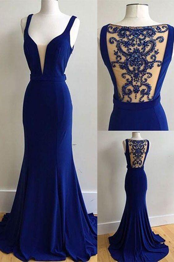 a726becd976 Royal Blue Prom Dresses